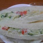 深町製パン - ポテトサラダサンド(160円)