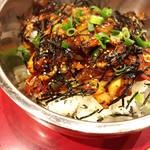 本場ソウルの味 味家 - イカの唐辛子味噌仕立て 混ぜご飯  食べた瞬間は甘〜い♬。. で、後からぐわーーーって!美味しい辛味が…!けどスプーンは止められない!うみゃあ..・ヾ(  ๑´д`๑)ツ