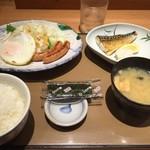 やよい軒 - 朝食