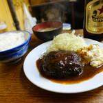 こづち - 煮込みハンバーグ定食