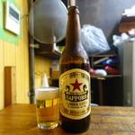 こづち - 男は黙ってサッポロビール、男の赤星です