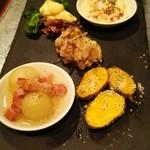 Hibikorekimiomo - 前菜盛り5種①980円