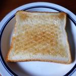 パン・ド・ナノッシュ - 食パン トースト後