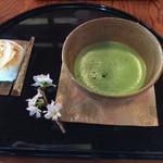 岩井屋 - 抹茶セット 800円