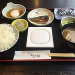割烹かみのほ - モンブランホテルの朝食 ¥800