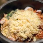 土古里 - 2017.2 石焼チーズビビンバ
