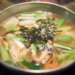 土古里 - 2017.2 たっぷり野菜が入った10品目スープ