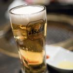 土古里 - 2017.2 アサヒスーパードライ生ビール