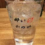 62605235 - 酎ハイ¥320(税別)。安いのは、ありがたい。