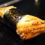 壱岐寿司 - *穴子・・温めて出されます。これも普通に美味しいと。