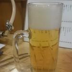 62606904 - 先ずは生ビールから(`へ´*)ノ□乾杯✨