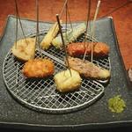 Ginzasakabamaruhachi - 串揚げ七種盛