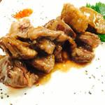 ビオ ワルン - お肉は100gからグラム数が選べます
