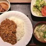 酒処 四州王 - ランチカレー定食