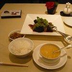 6261975 - 黒酢の四角い酢豚 2000円