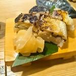 62614898 - 焼き鯖寿司(2貫) 500円