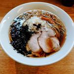 麺処あずき - 醤油ラーメン