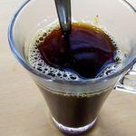 筑豊ラーメン山小屋 - ホットコーヒー