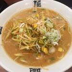 おおぎやラーメン - 料理写真:ネギみそラーメン(大盛)