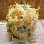 讃岐うどん なかざわ家 - 野菜かき揚げ130円