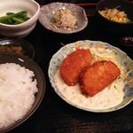 様 - 1702 様 日替わりランチ(豆腐コロッケ)@1,200円