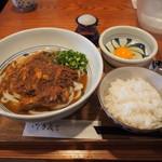 侍.うどん - 侍、カレー(TKG付き)