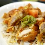 華龍飯店 神保町 - 油淋鶏定食 ¥750