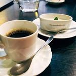 雪月花  - 杏仁豆腐・コーヒー
