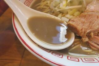 煮干中華そば専門 煮干丸 - スープ