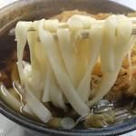 大和屋 - きしめんは茹で麺だ