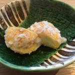 カウンターお野菜天ぷら mego - アイスの天ぷら