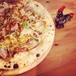 Beer & Chicken 大山 - ネギピザ