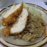 キッチン南海  - チキンカツ・しょうが焼