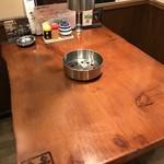 闇市肉酒場 - 2名様から4名様のテーブル