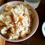 ろっか - 鶏ゴボウご飯