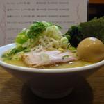 麺処いのこ - 料理写真:野菜ラーメン塩(並)+味玉