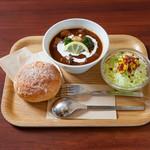 ベリーベリースープ - 料理写真:シングルセット 特製フレンチビーフシチュー当店一番人気です