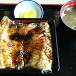 62638638 - 黒ハモ丼は1100円なのです