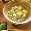 美糸 - 料理写真:かきと白菜のあんかけおうどん