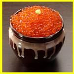 うまか道場 - 料理写真:プチプチ・キラキラ海の宝石箱♪ミニイクラ丼