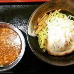 らー麺山之助 - 料理写真:からし味噌つけ麺780円