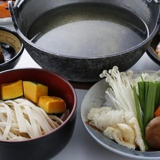 甲州名物「ほうとう鍋」