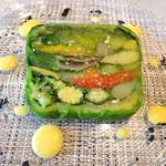 62645392 - 20種類の野菜のテリーヌ