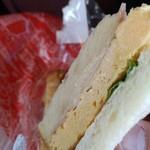 62645450 - 玉子サンドは優しいお味(*´▽`*)