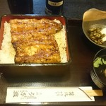 62647354 - 2017/2 鰻重¥2400(税込)大盛り¥0、ランチビール¥300(税込)