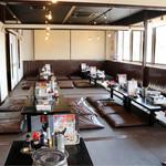 徳川ホルモンセンター - 広々とした座敷もあります