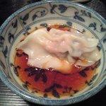 おもの里 - 水餃子タレ