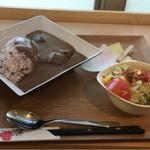 Cafe 樹の子 - 料理写真:ゴロゴロお肉が柔らかくて美味しかったです