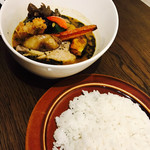 FUKUROO. - チキンと野菜のスープカリー  基本のスープ