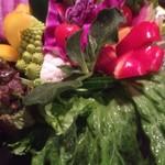 どろまみれ - 15種類の生野菜